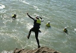 Coasteering-Ogmore-by-Sea